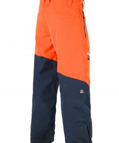 Alpin Pant Orange Dark Blue