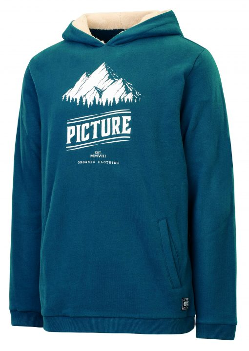 Hooper Hoody Sweat Petrol Blue