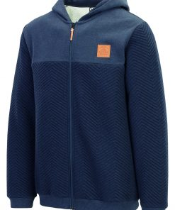 Sweat Come Zip Hoody Dark Blue