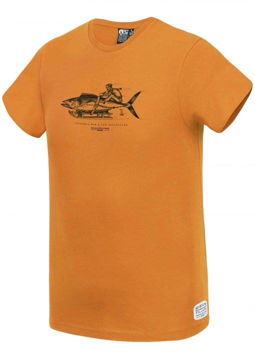 T-shirt Fisher Dad & Son Camel