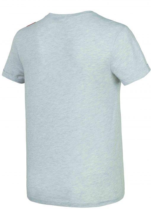 T-shirt Snowy Land Dad & Son Grey Melange