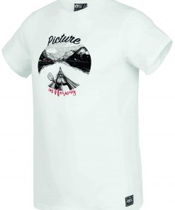 T-shirt Discover White