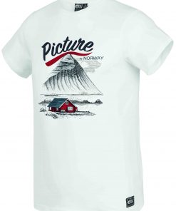 T-shirt Norway White
