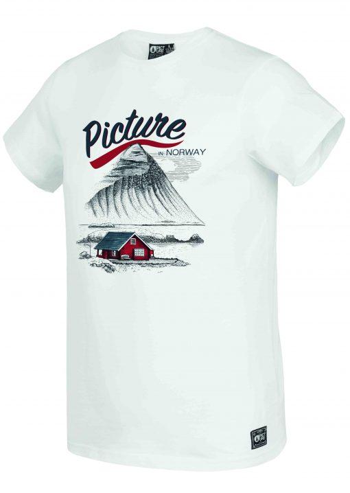 T-shirt Norway White