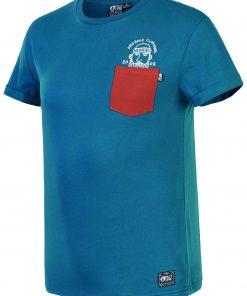 T-shirt Timber Petrol Blue