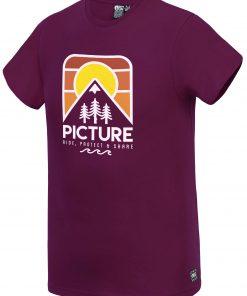 T-shirt Lanfon Burgundy