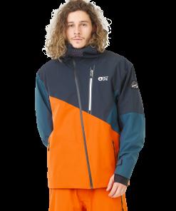 Alpin JKT Orange Dark Blue