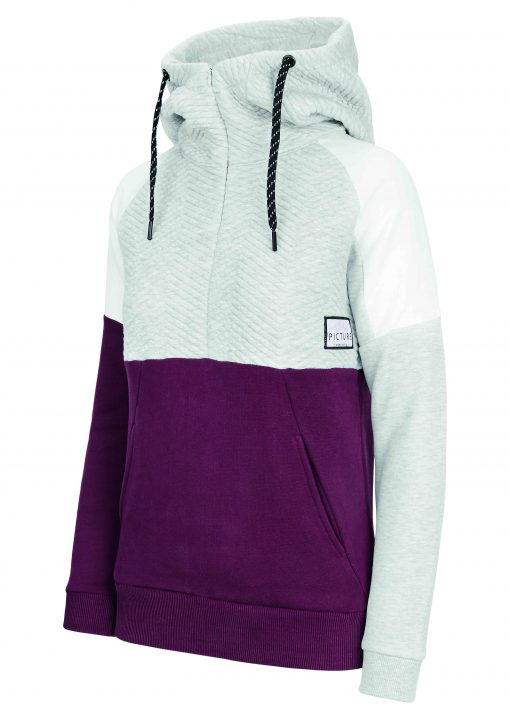 Jully Hoody Sweat Grey Melange Burg