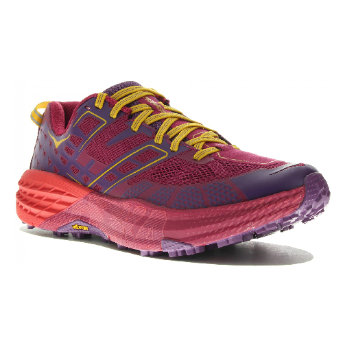 789a2d47061 Chaussure trail femme Hoka W Speedgoat 2 cherries purple