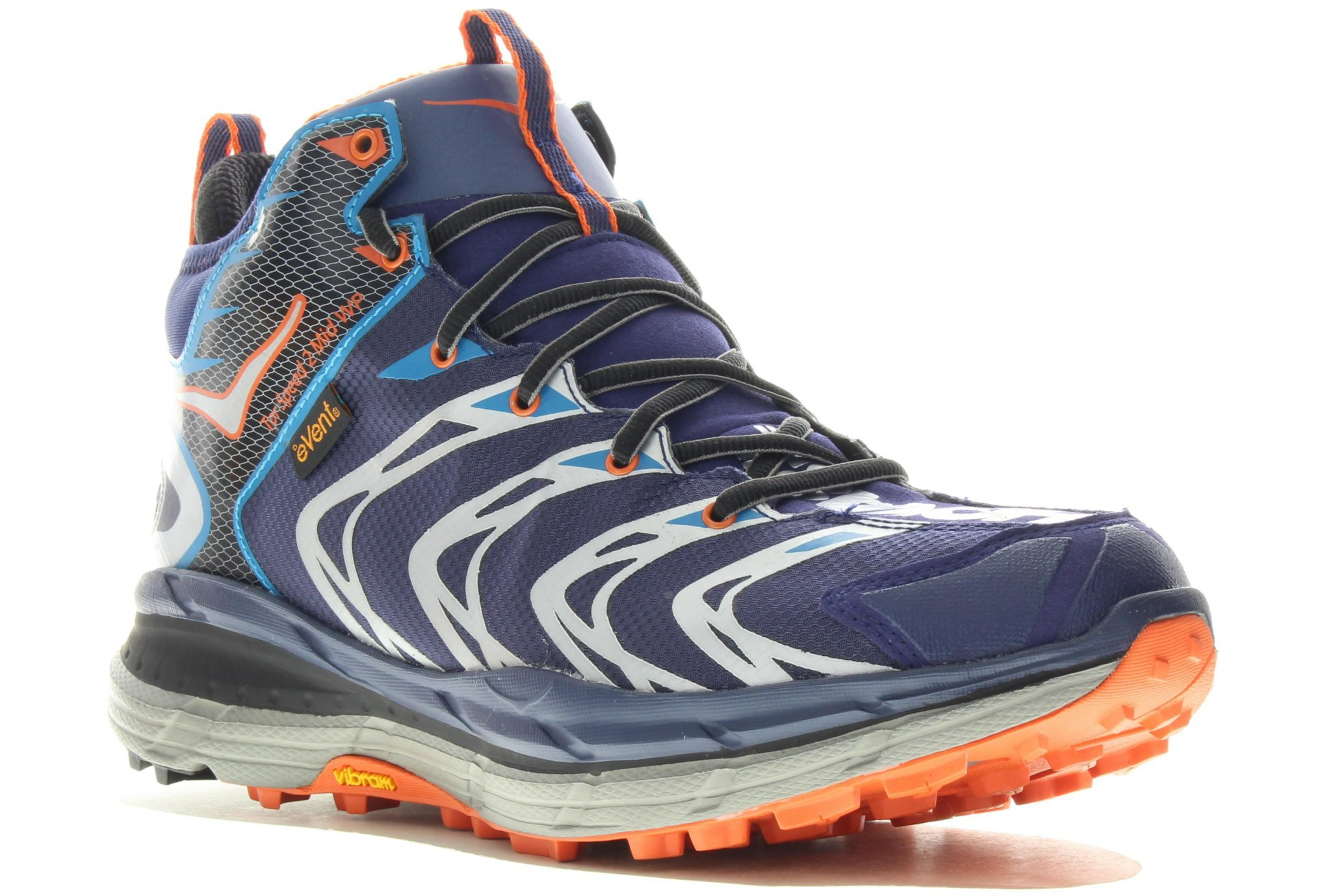 Hoka TOR SEED 2 Mid WP Blue Red Orange
